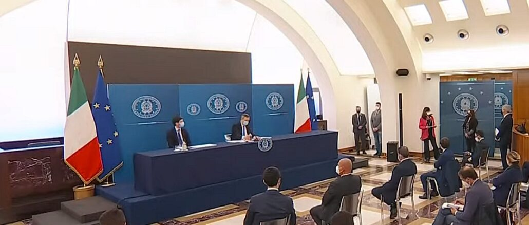 Consiglio Ministri - conf stampa