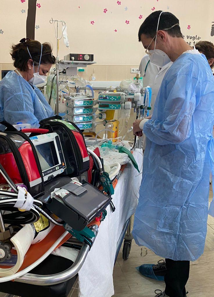 Gaslini stabilizzazione neonato