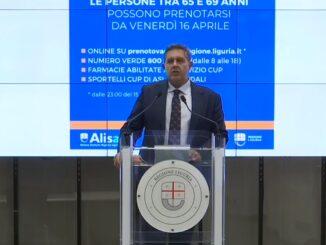 Giovanni Toti Vaccinazioni Liguria
