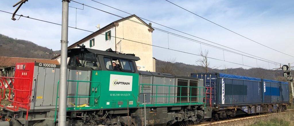 Italiana Coke, coke via ferrovia, aprile 2021