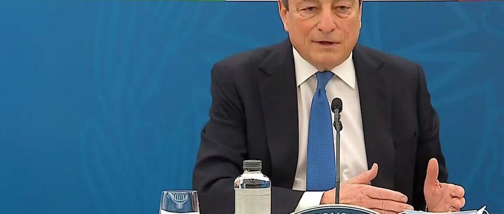 Mario Draghi CdM