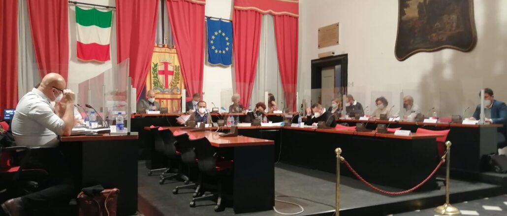 Consiglio comunale di Albenga 29 aprile