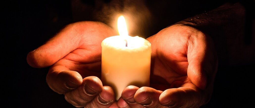 lutto candela