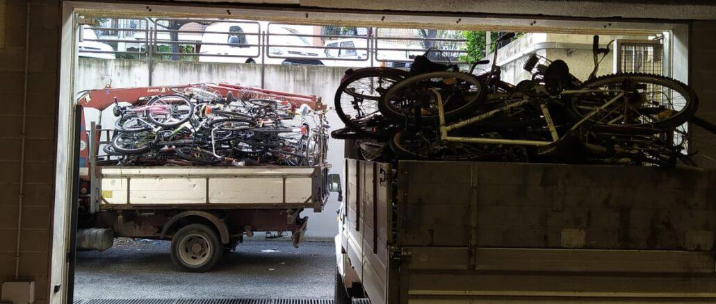 rottamazione biciclette ad Albenga