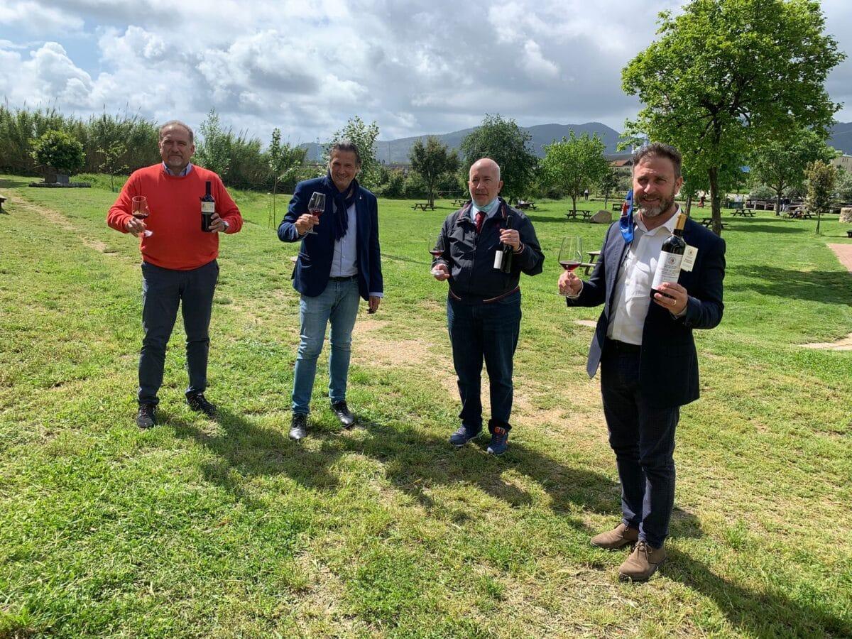 Savona - tour vice presidente Piana