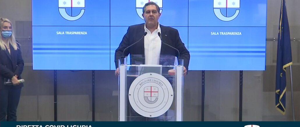 Sala Trasparenza Regione Liguria 14-05-2021 - Giovanni Toti