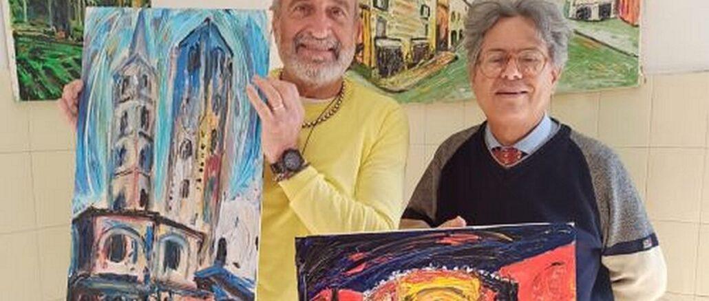Sergio Giusto e Claudio Almanzi