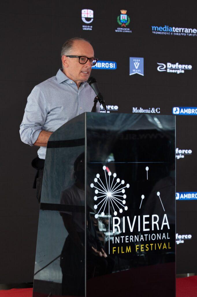 Stefano Gallini Durante pres RIFF ph Bottinelli