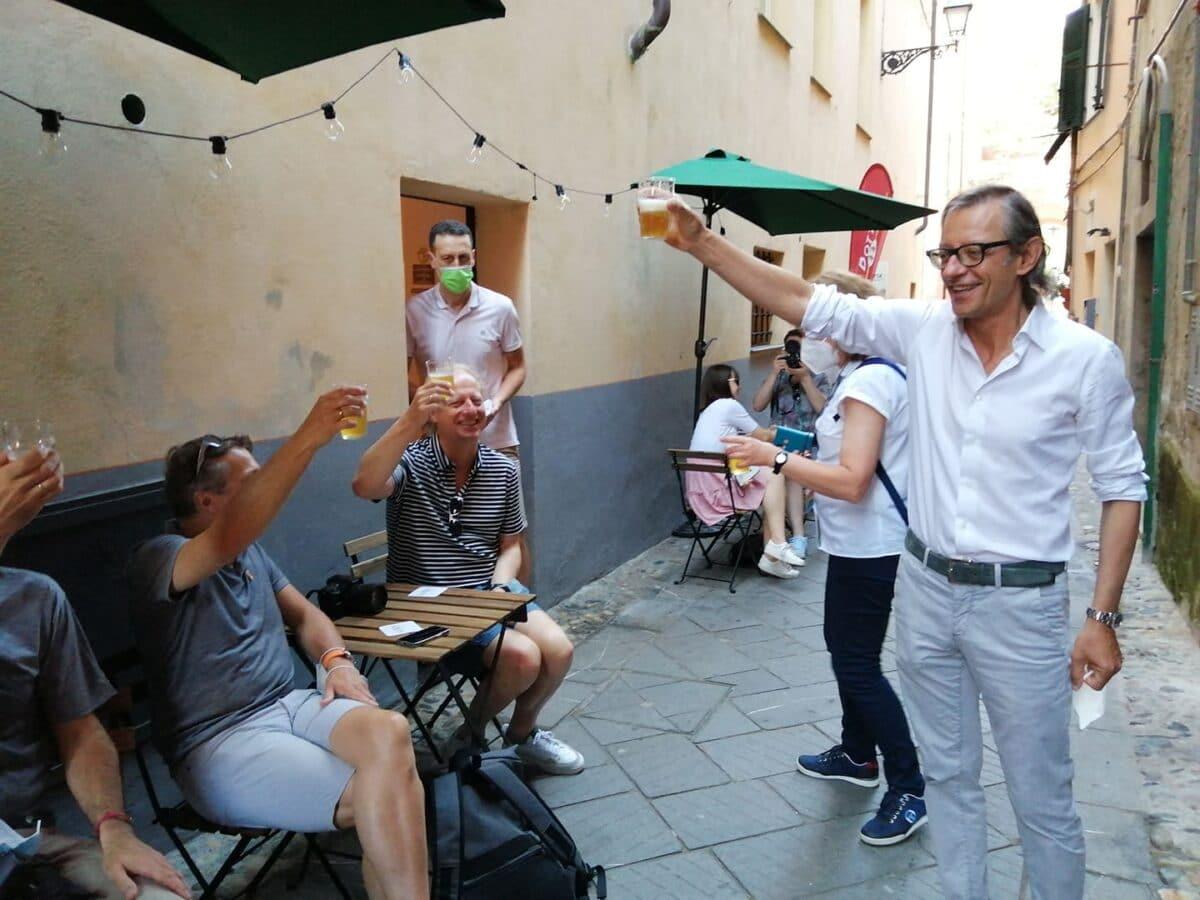 Ad Albenga blogger tedeschi