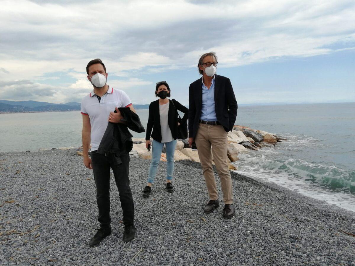 Albenga Passino Gaia Tomatis progetto moli
