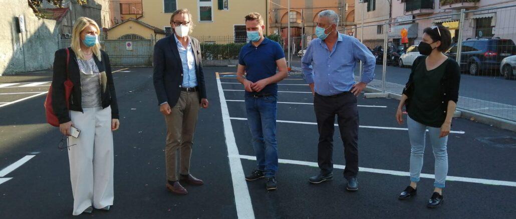 Albenga giunta parcheggio viale liguria 5