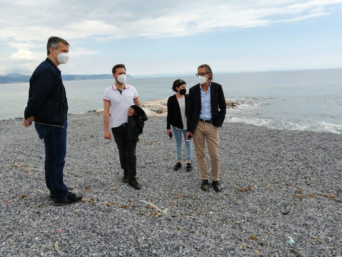 Albenga progetto moli