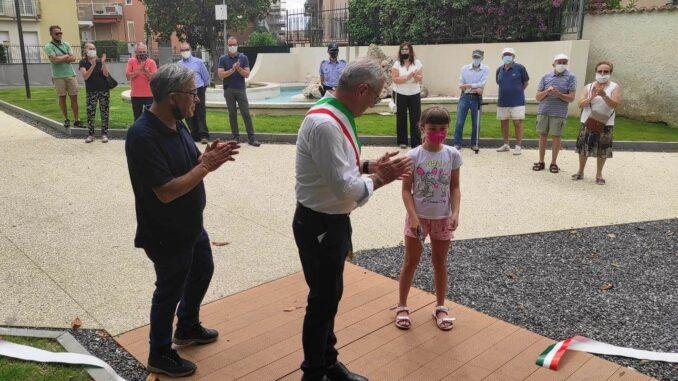 Ceriale inaugurazione parco Sasso