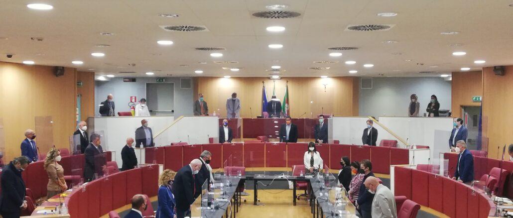 Minuto di silenzio - Consiglio Regione Liguria