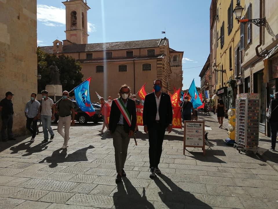 Albenga manifestazione laerh 1