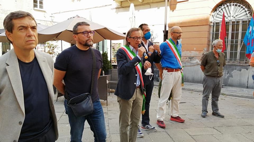 Albenga manifestazione laerh 2