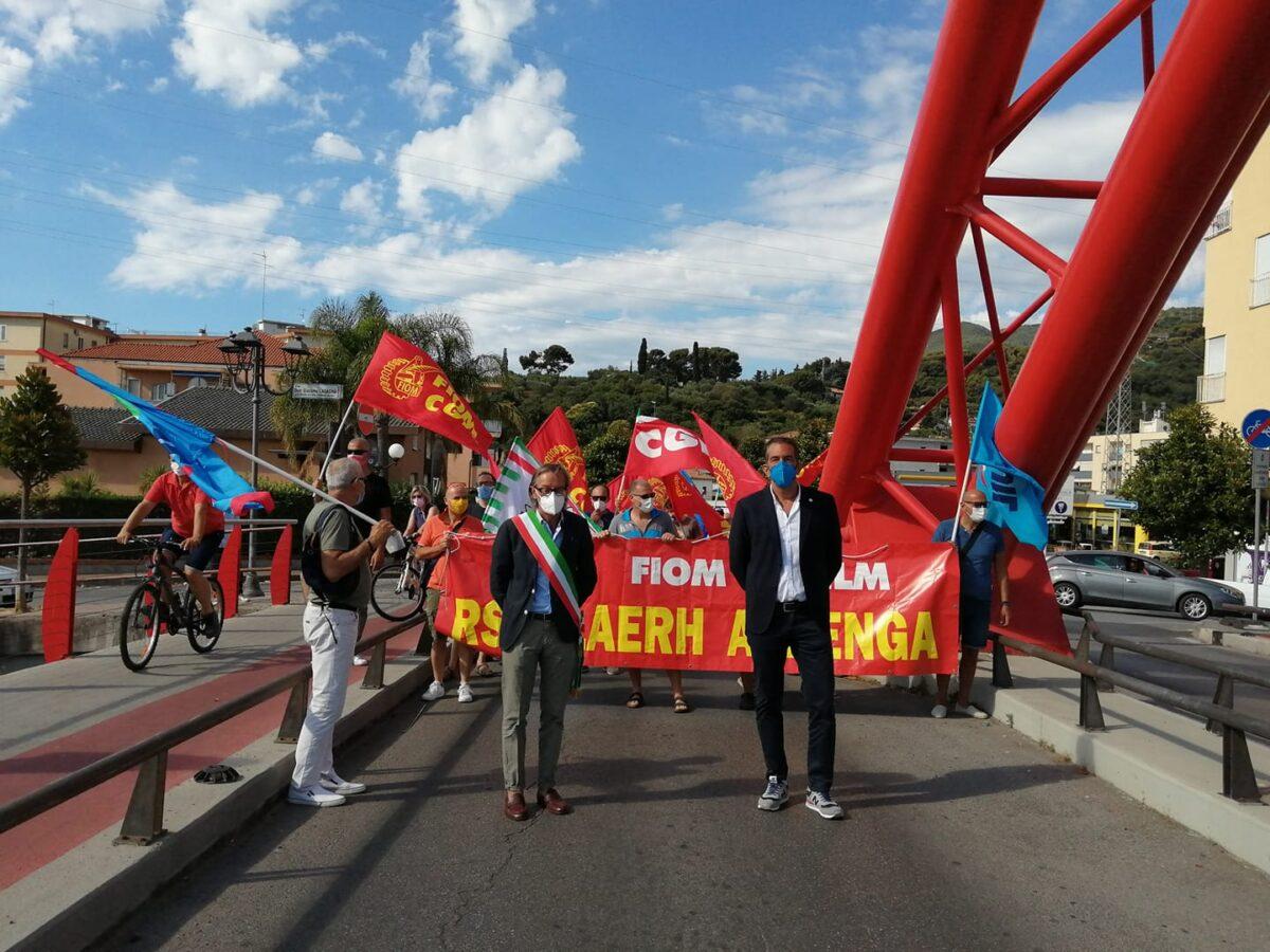 Albenga manifestazione laerh 3