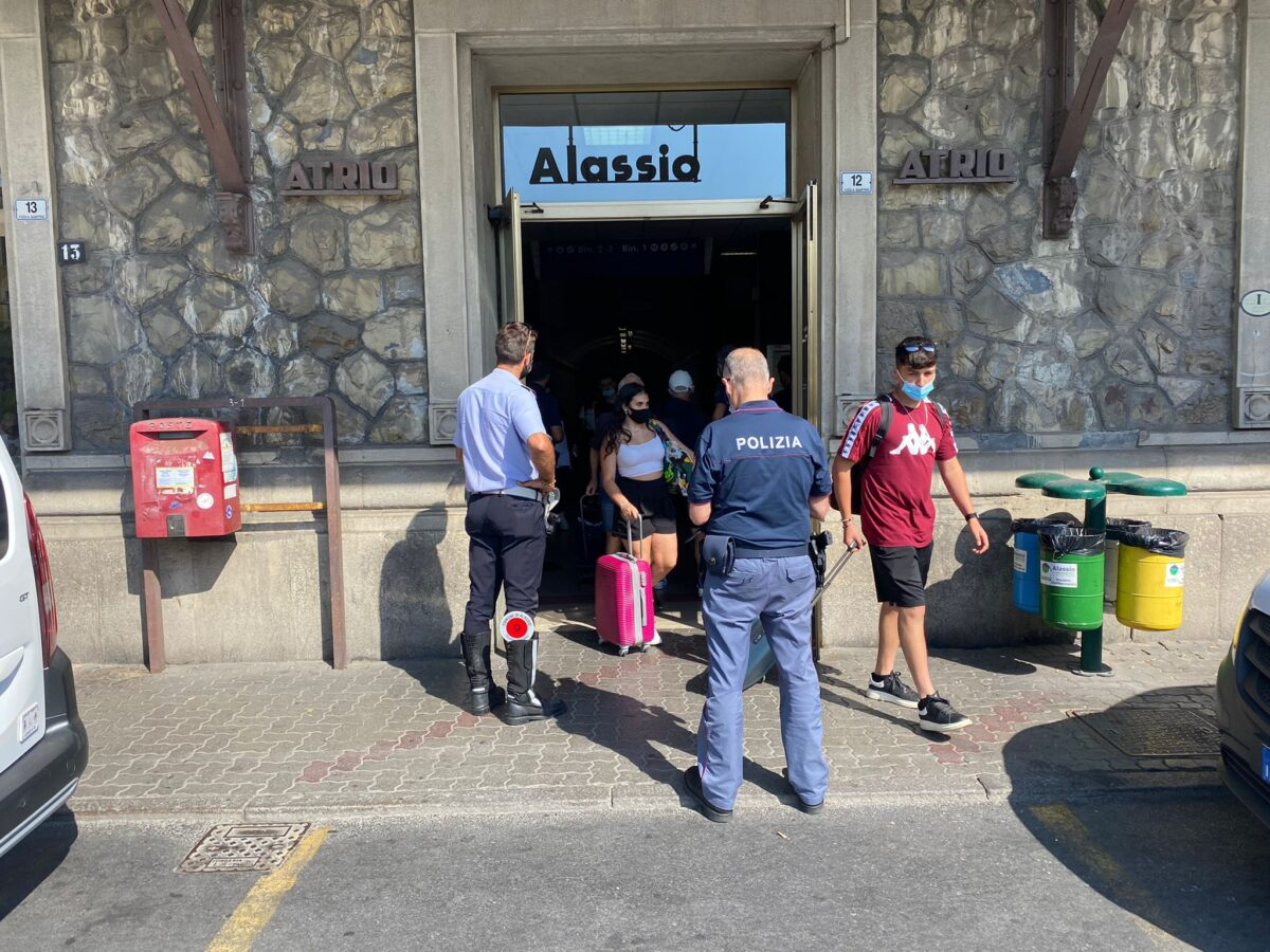 Controlli in Stazione Alassio