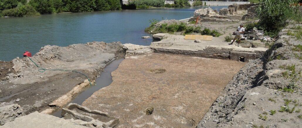 scavi archeologici San Clemente ad Albenga