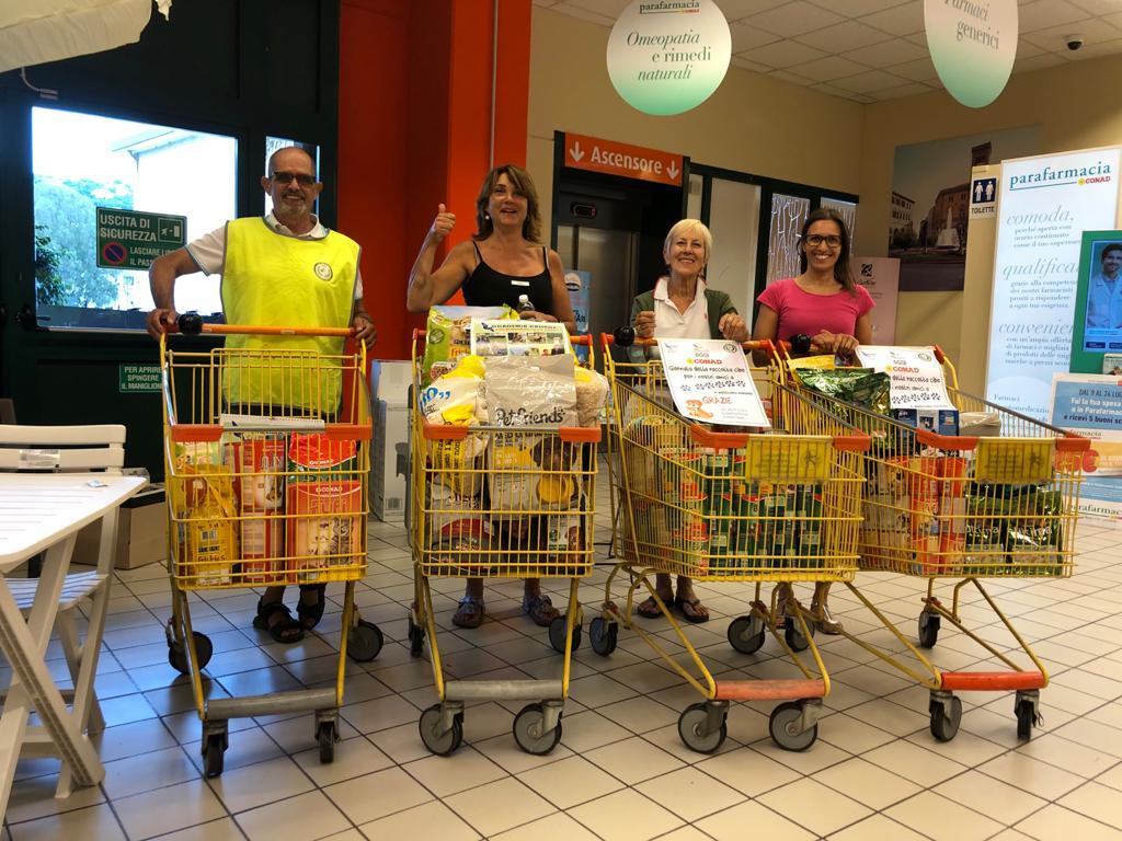 La raccolta nei supermercati