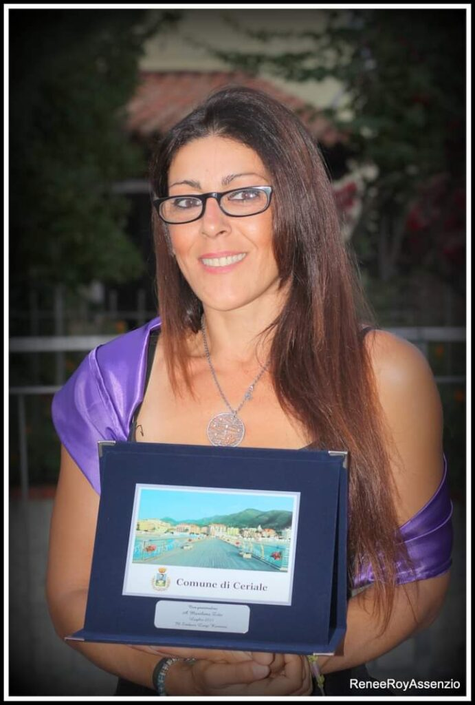 Marilena Zito artista lucertola ocellata