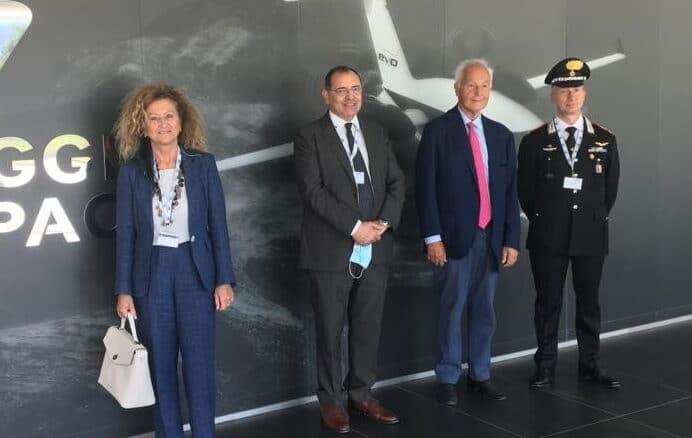 Piaggio Aerospace Visita Prefetto Savona