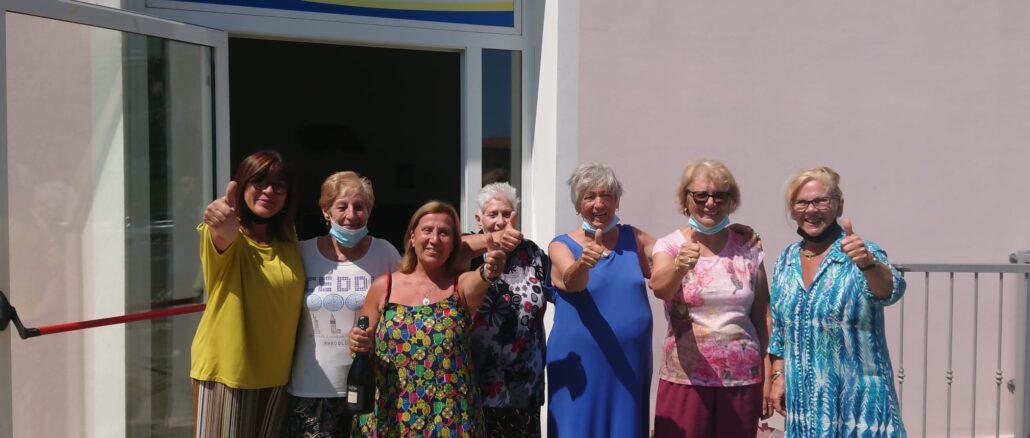 Riapertura centro sociale a Molino Novo di andora