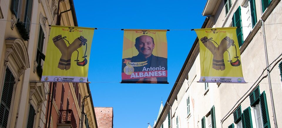 fionda 2020 bandiere albanese rita baio