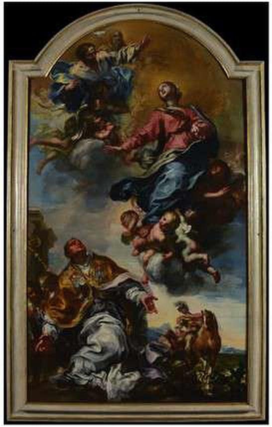 Lorenzo De Ferrari La Vergine Assunta