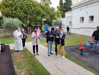 inaugurazione giochi asilo Loano 04